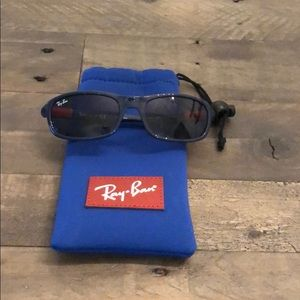 Ray Ban Jr Sunglasses RJ9056S. 188/80 Dark Blue